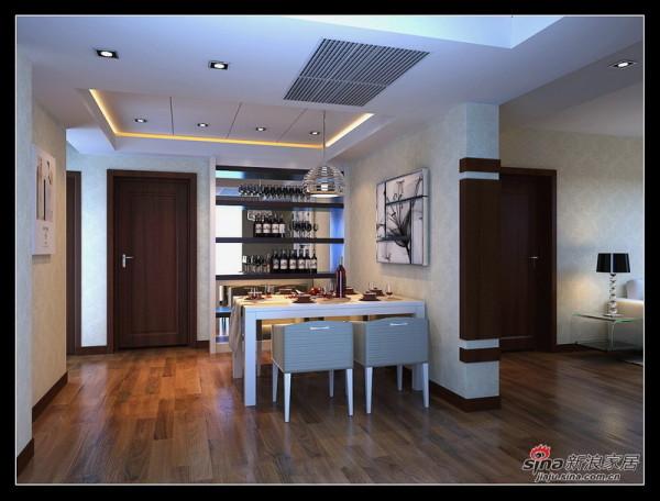 简约 三居 餐厅图片来自用户2556216825在安华里120㎡沉稳简约3居室改造45的分享
