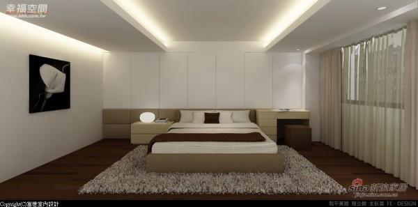 利用床头横梁下的空间规划一整个墙面的收纳