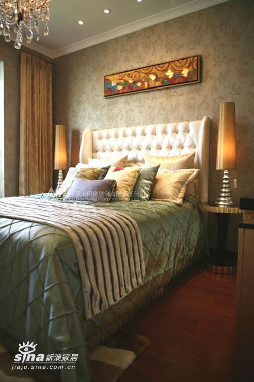 简约 三居 卧室图片来自用户2738820801在风尚装饰珠江帝景售楼处样板间--典雅的奢华19的分享