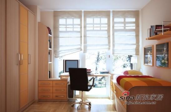简约 loft 卧室图片来自用户2556216825在白领98平硬朗现代简约LOFT52的分享