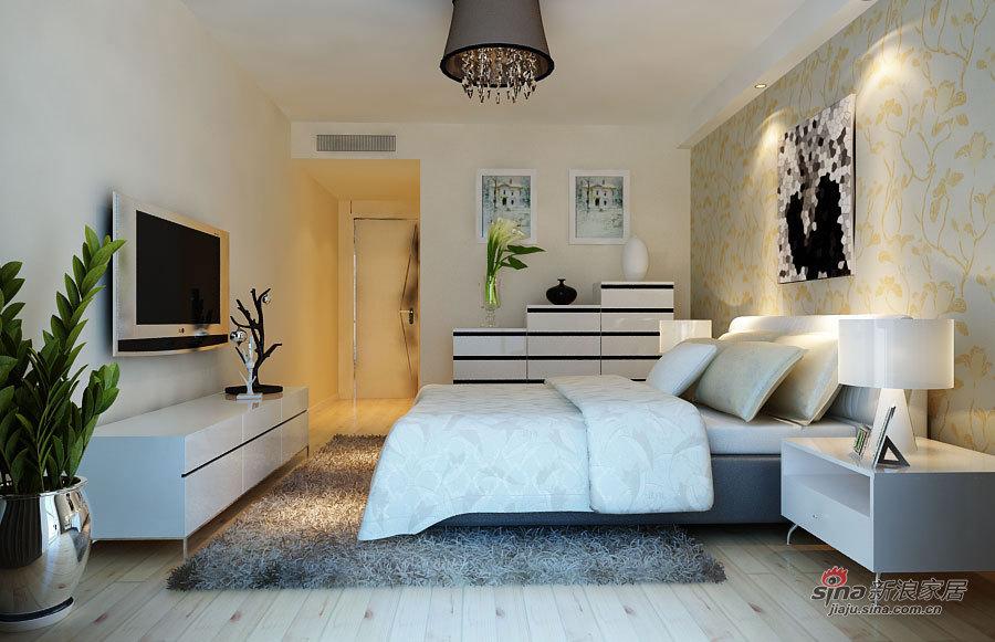 简约 四居 卧室图片来自用户2745807237在6.2万打造138平四居朴素真谛家居88的分享