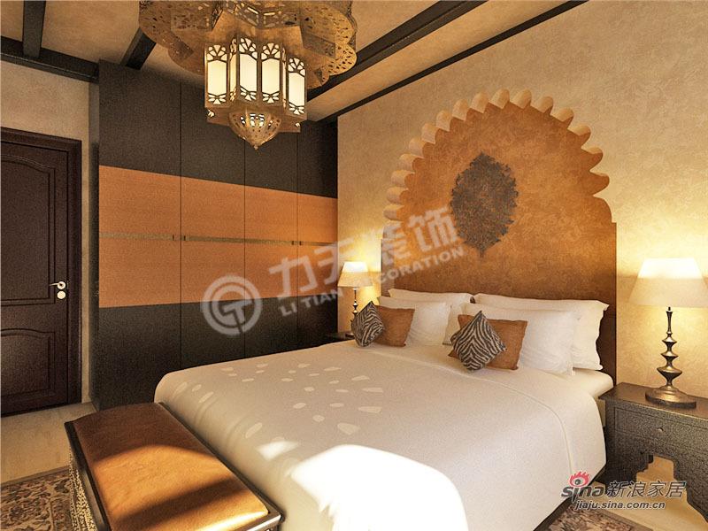地中海 一居 卧室图片来自阳光力天装饰在华城景苑-1室1厅1卫1厨-地中海风格38的分享