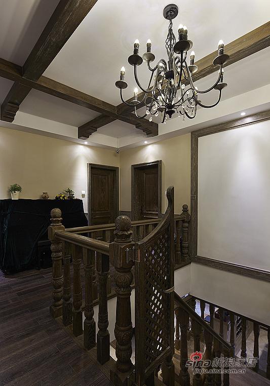简约 复式 楼梯图片来自装修微日记在【高清】夫妻190平复古情调复式空间48的分享