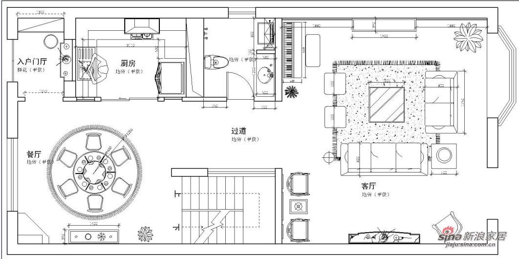 欧式 别墅 客厅图片来自用户2746889121在怡享田园400平欧式风奢宅58的分享