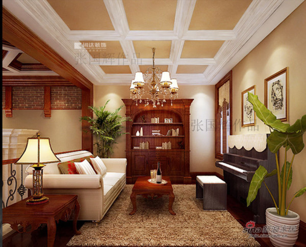 家庭厅效果图