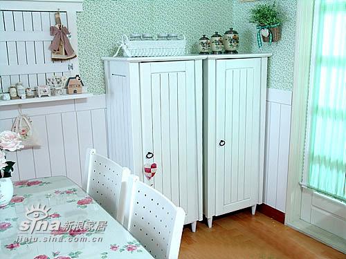 简约 二居 餐厅图片来自用户2739378857在清雅洁白韩式美美样板间90的分享