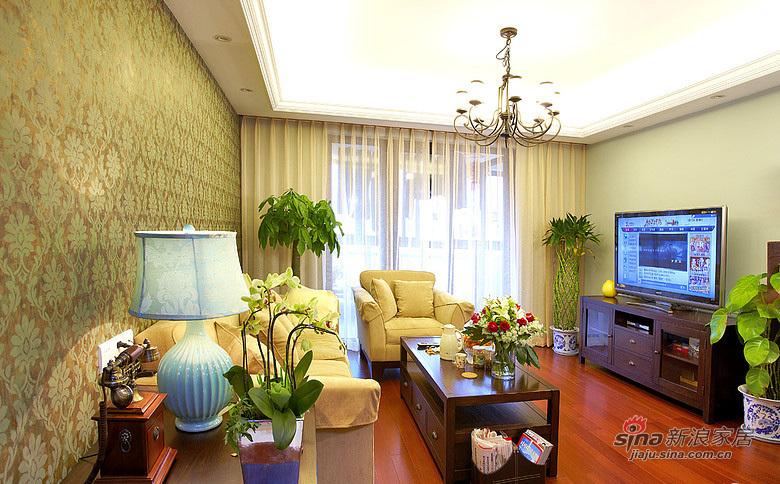 现代 三居 客厅 白富美图片来自装修微日记在【高清】9万打造101平现代雅致空间52的分享