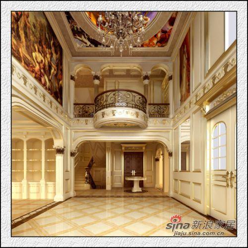 欧式 跃层 客厅图片来自用户2557013183在鸣仁康城暖山法式20的分享