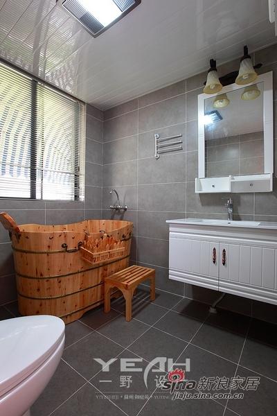 田园 三居 卫生间图片来自用户2557006183在10万营造自然美式乡村3居室94的分享