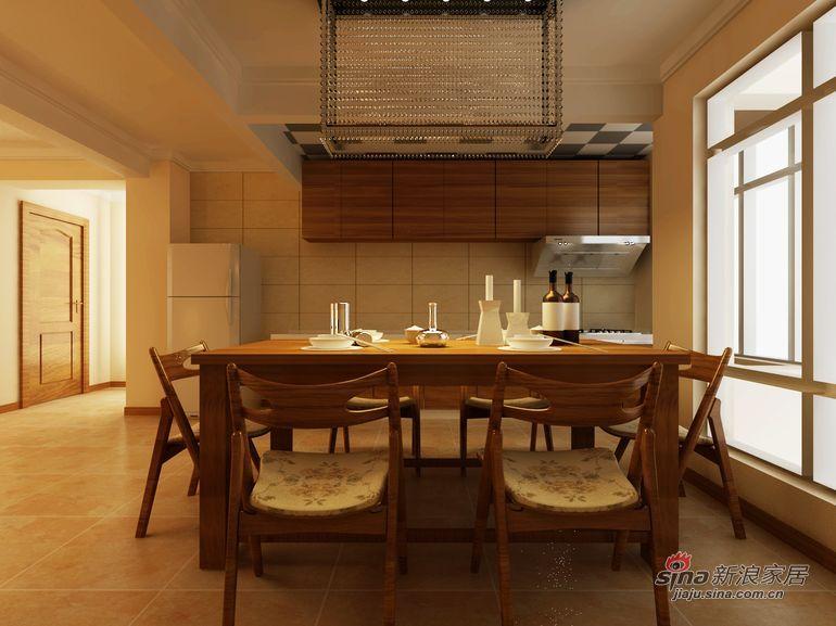 简约 三居 餐厅图片来自用户2557010253在简约设计自己来  保利蓝海郡107平三居居室28的分享