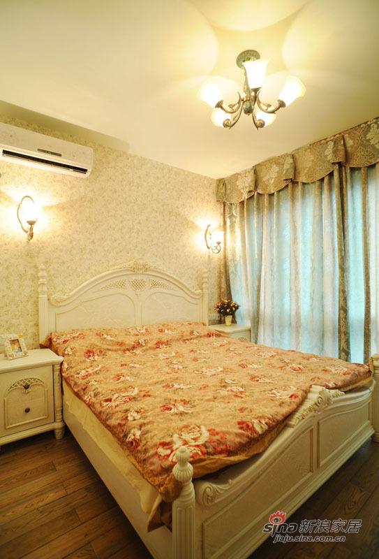 地中海 复式 卧室图片来自佰辰生活装饰在99平唯美地中海清凉浪漫家44的分享