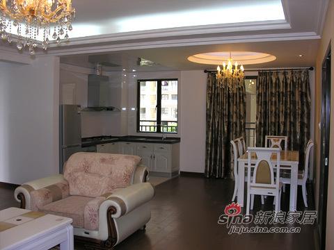 欧式 三居 客厅图片来自用户2557013183在小夫妻120平现代欧式三居51的分享