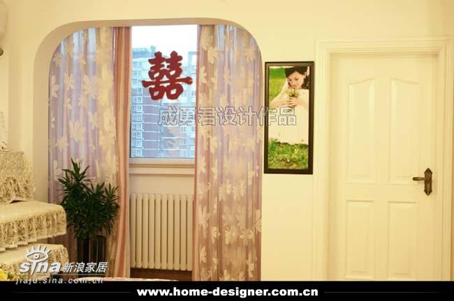 欧式 二居 客厅图片来自用户2745758987在正阳北里11的分享