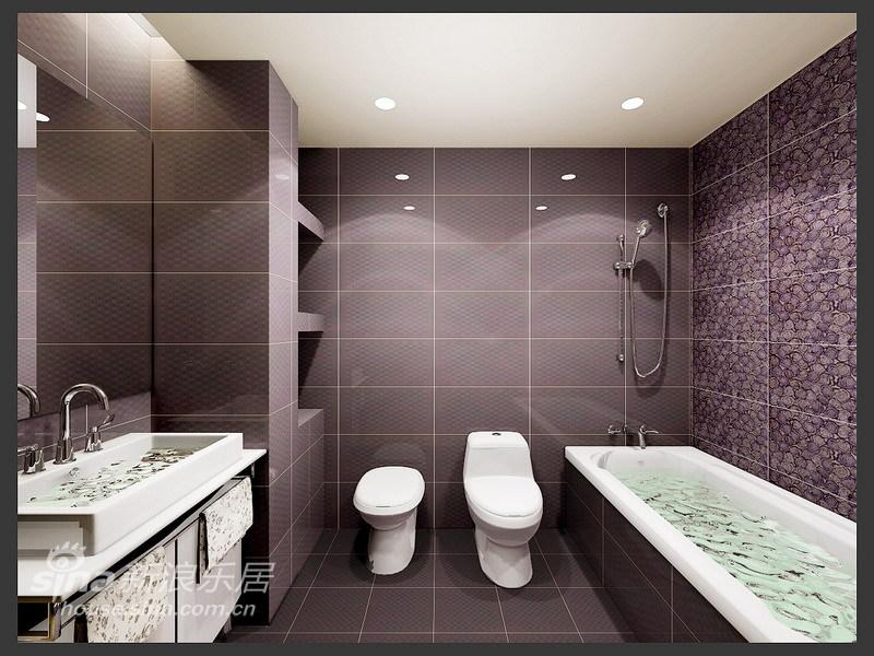 简约 三居 卫生间图片来自用户2738093703在白领一族最爱的时尚简约家居设计62的分享