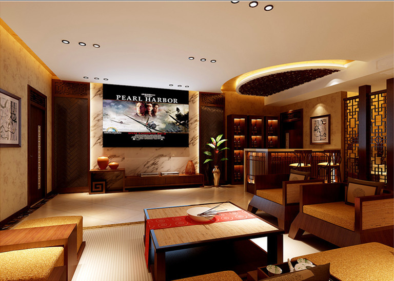 中式 别墅 客厅图片来自用户1907658205在19万铸造孔雀城260平完美中式风格别墅64的分享