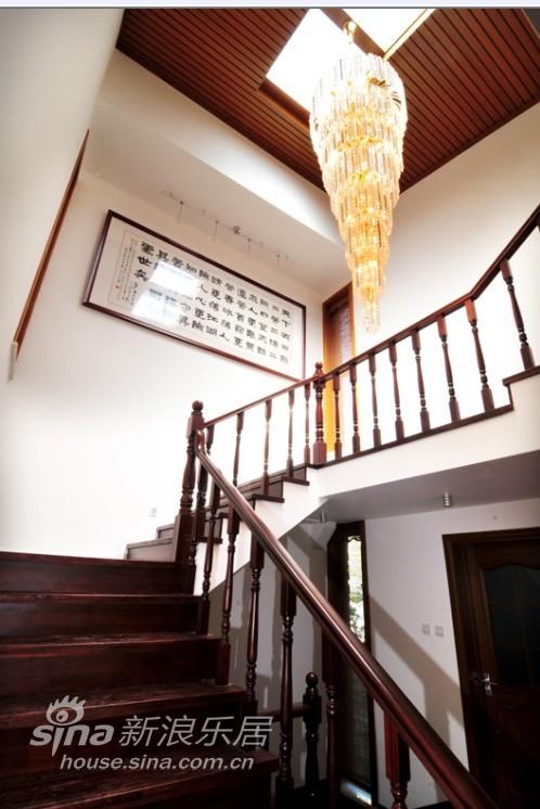中式 别墅 楼梯图片来自用户2737751153在中式韵味别墅15的分享