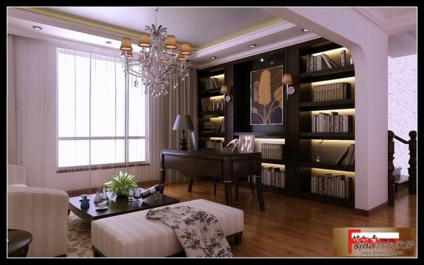 温歌华森林别墅-书房