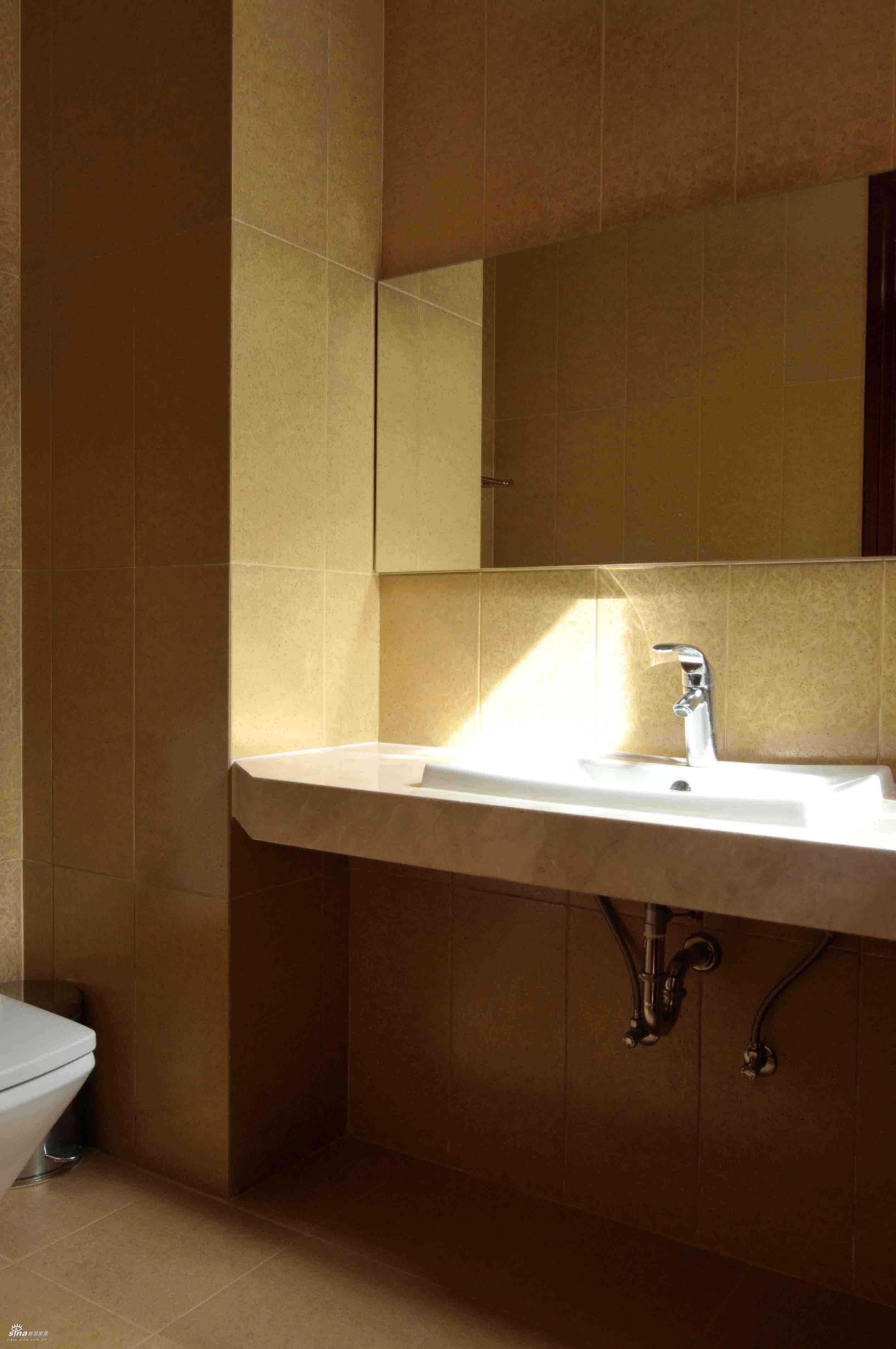 简约 别墅 卫生间图片来自用户2737786973在样板间67的分享