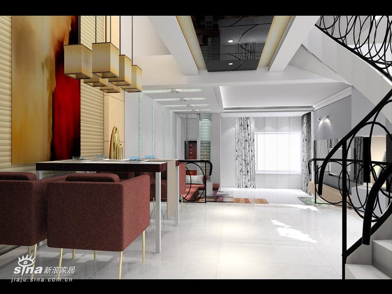简约 复式 客厅图片来自用户2737735823在彩虹新城复式简约设计38的分享