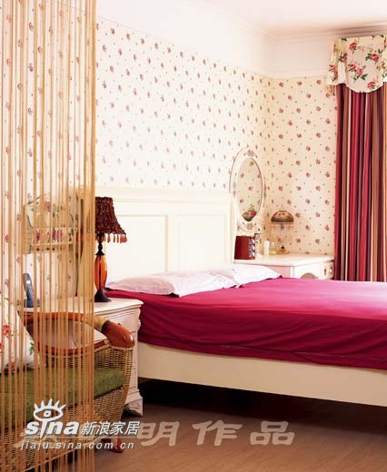 欧式 四居 卧室图片来自用户2746889121在半岛上的风情60的分享
