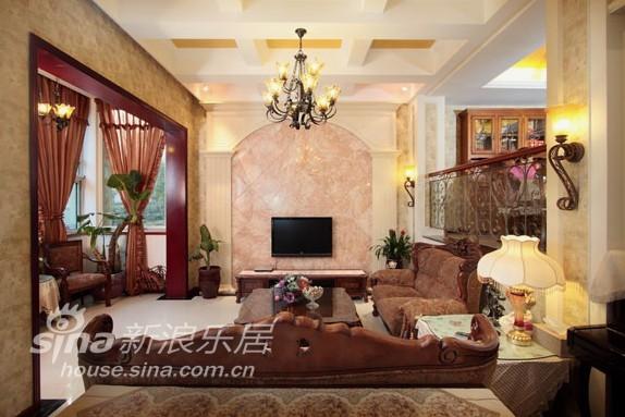欧式 别墅 客厅图片来自用户2772856065在春亭装潢 简欧混搭幸福小镇78的分享