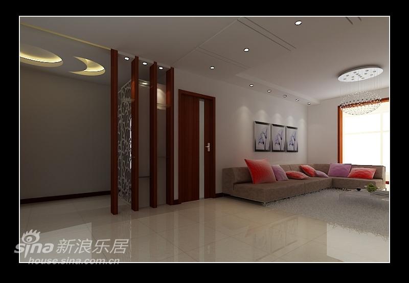 简约 三居 客厅图片来自用户2738813661在远洋山水简约设计50的分享