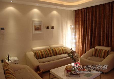简约 三居 客厅图片来自用户2739153147在5.4万半包打造甜蜜新居简约3房56的分享