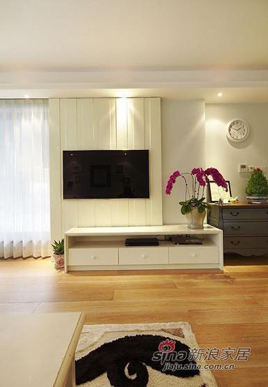 美式 三居 客厅图片来自用户1907685403在11万铸造140平美式风格三居室45的分享