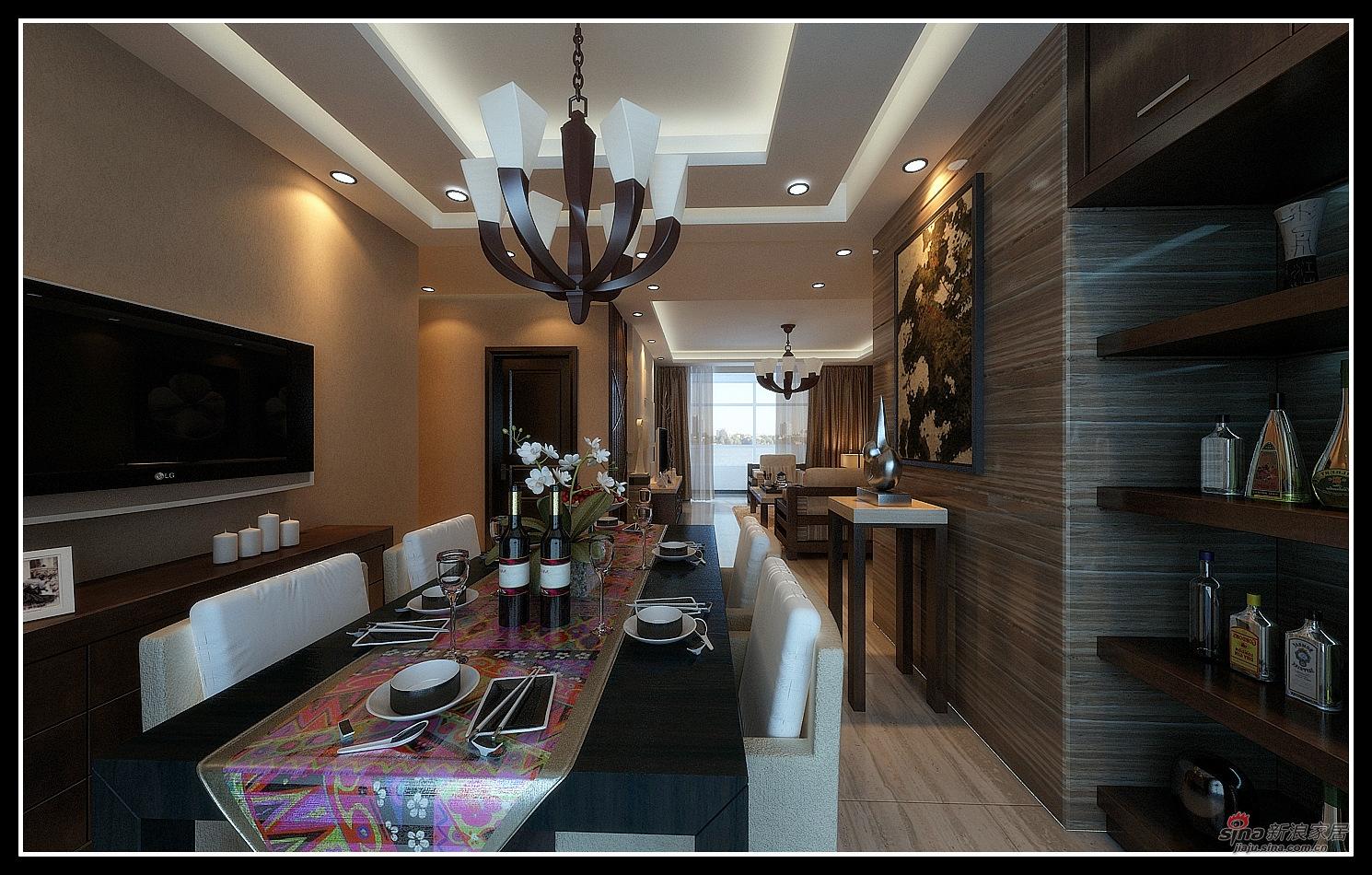 港式 三居 餐厅 高富帅图片来自用户1907650565在140平金色简欧60的分享