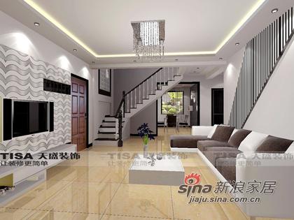 简约 复式 客厅图片来自用户2738093703在风现代简约41的分享
