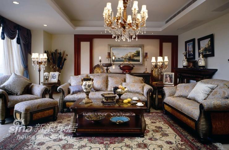 欧式 别墅 客厅图片来自用户2772873991在杭州西子湾别墅49的分享