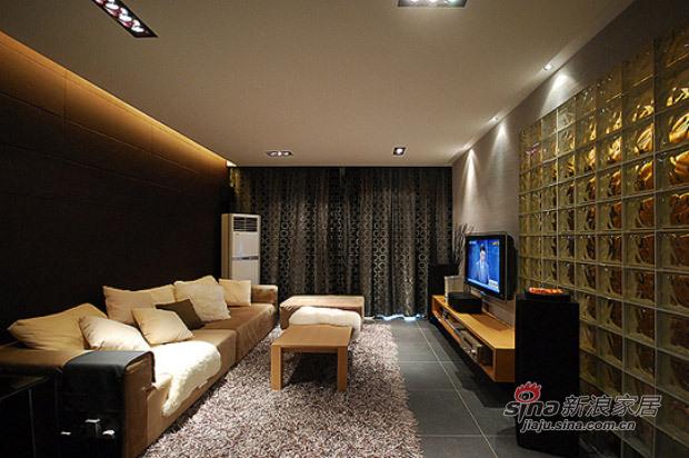 现代 三居 客厅图片来自佰辰生活装饰在白领光影打造82平现代简约家71的分享
