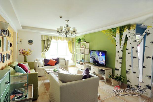 田园 二居 客厅图片来自用户2737946093在【多图】徜徉集田园混搭风格23的分享
