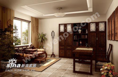 其他 三居 书房图片来自用户2558757937在业之峰装饰书房设计续98的分享