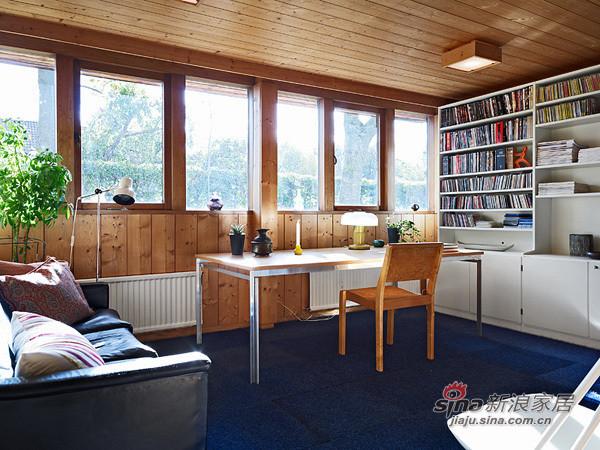 书房的设计,小书桌,有没有让你瞬间想到图书馆