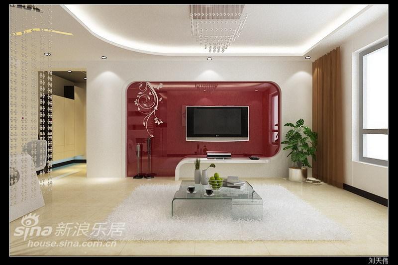 简约 二居 客厅图片来自用户2738829145在4.8万元亲情打造110平回龙观简约时尚温馨设计27的分享