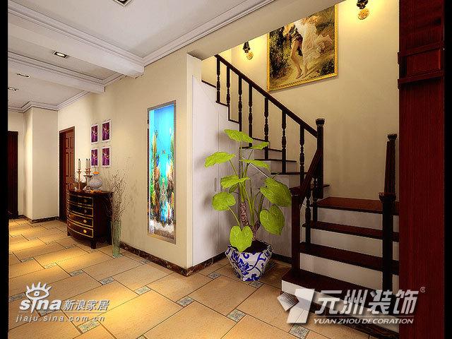 欧式 别墅 楼梯图片来自用户2746948411在镜春园47的分享