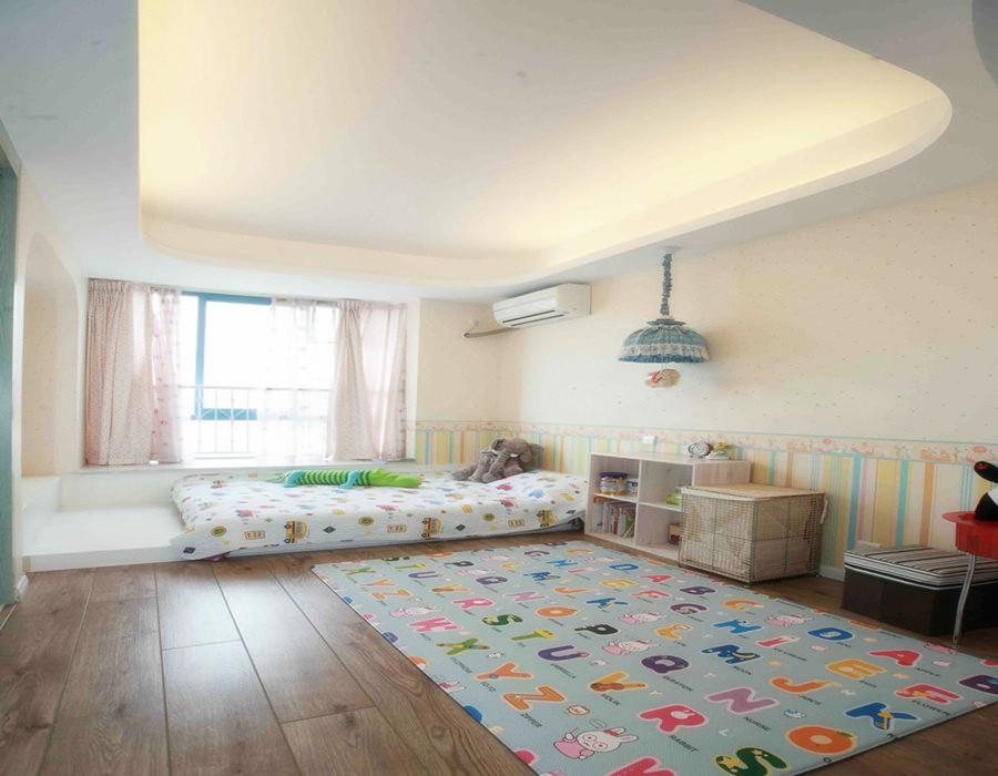 简约 三居 儿童房图片来自用户2738845145在【高清】6万打造124平现代简洁三居室52的分享