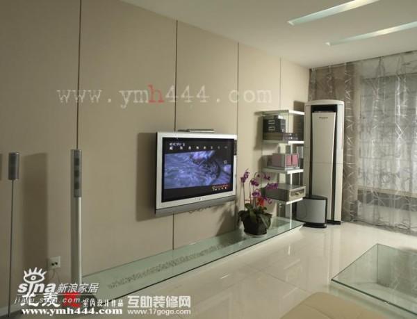 简约 一居 客厅图片来自用户2739081033在轻纱曼舞的简约空间41的分享