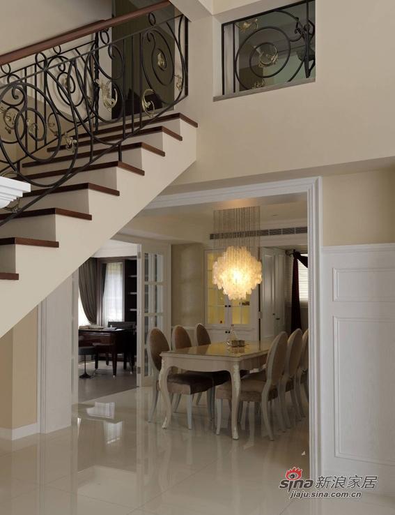 美式 复式 楼梯图片来自佰辰生活装饰在17万打造165平时髦美式三口之家68的分享