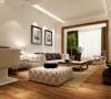 9万打造葛洲坝花园现代简约125平三居室