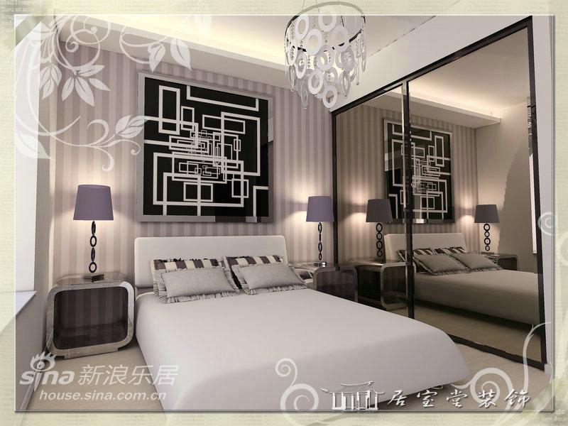 简约 二居 卧室图片来自用户2739378857在万科琥珀郡园61的分享