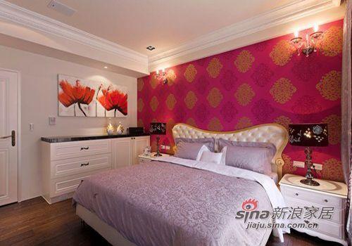 现代 复式 卧室图片来自佰辰生活装饰在简约大气98平舒适自然美家19的分享