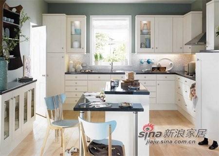 L型厨房布局设计