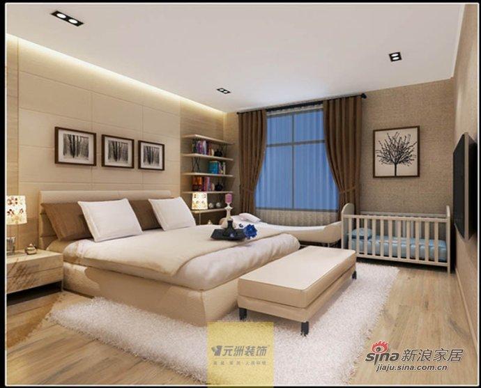 简约 二居 卧室图片来自用户2738829145在首开常青藤77的分享