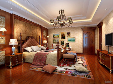 欧式风格500平米大别墅61