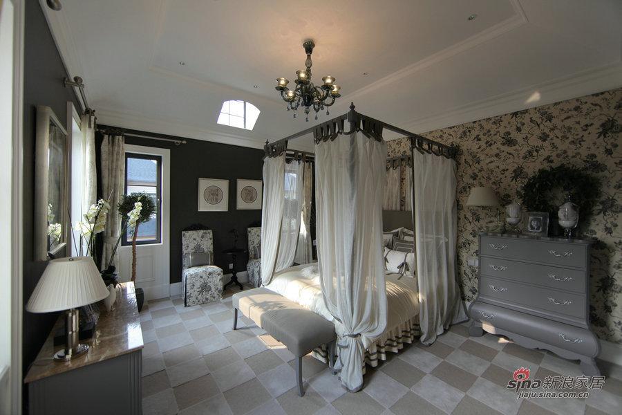 欧式 别墅 卧室图片来自用户2746953981在【高清】欧式奢华大宅实景京基·鹭府20的分享