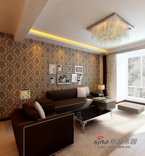 简约 三居 客厅图片来自用户2737759857在5.9w装清新自然家 晒109平简约3居13的分享