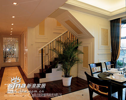 欧式 别墅 餐厅图片来自用户2772873991在深圳天悦龙庭示范单位90的分享
