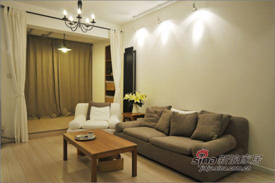 现代 三居 客厅图片来自佰辰生活装饰在8万装110平纳维亚式简约家38的分享